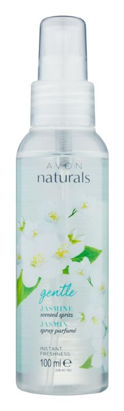 Avon Naturals Fragrance odświeżający spray do ciała o zapachu jaśminu