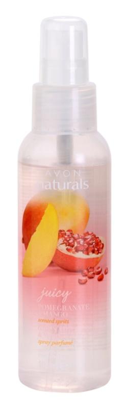Avon Naturals Fragrance testápoló spray gránátalmával és mangóval