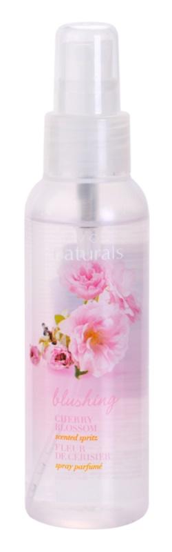 Avon Naturals Fragrance pršilo za telo s cvetovi češnje