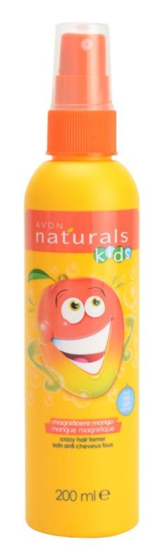 Avon Naturals Kids sprej pre jednoduché rozčesávanie vlasov