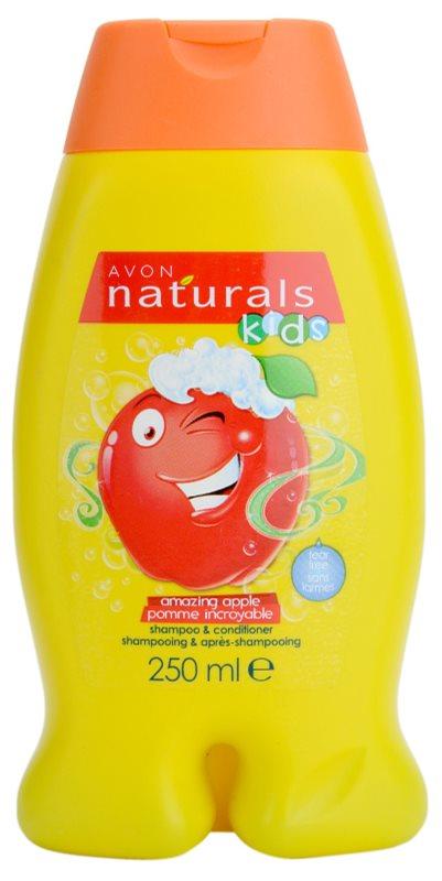 avon naturals kids shampoo und conditioner 2 in 1 f r. Black Bedroom Furniture Sets. Home Design Ideas