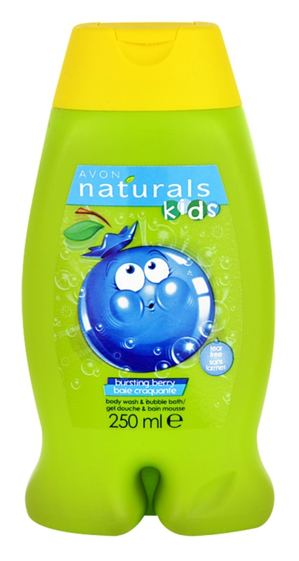 Avon Naturals Kids Badschuim en Douchegel 2in1 voor Kinderen