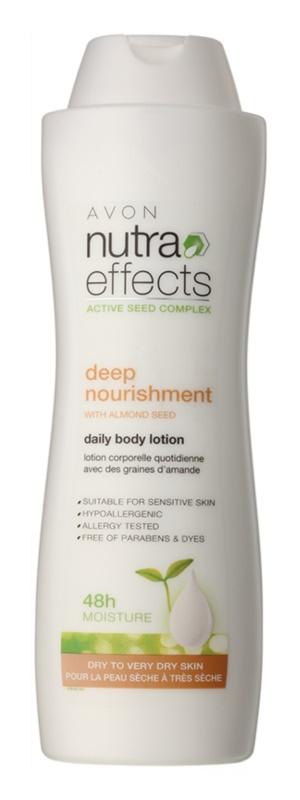 Avon Nutra Effects Nourish hydratisierende Körpermilch für trockene und sehr trockene Haut
