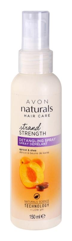 Avon Naturals Hair Care vlasový sprej pro snadné rozčesání vlasů