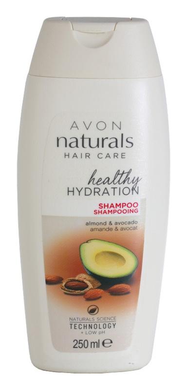 Avon Naturals Hair Care shampoing régénérant pour chevex secs et abîmés