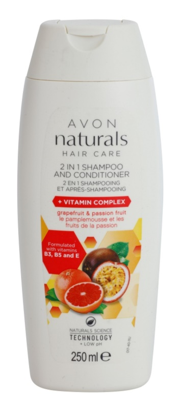 Avon Naturals Hair Care Shampoo en Conditioner 2in1