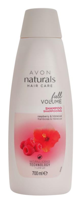 Avon Naturals Hair Care shampoing pour cheveux fins et sans volume