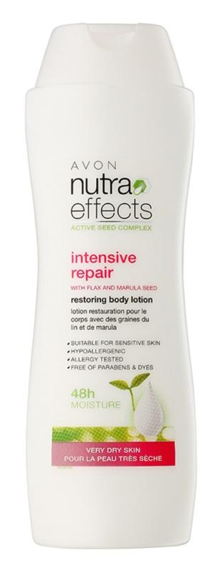 Avon Nutra Effects obnovujúce telové mlieko pre veľmi suchú pokožku