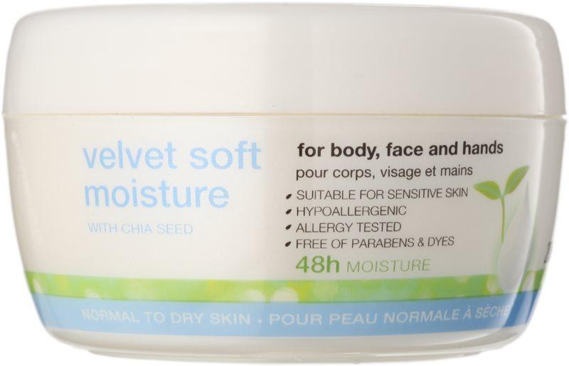 Avon Nutra Effects creme hidratante suavizante de dia e noite para rosto e corpo