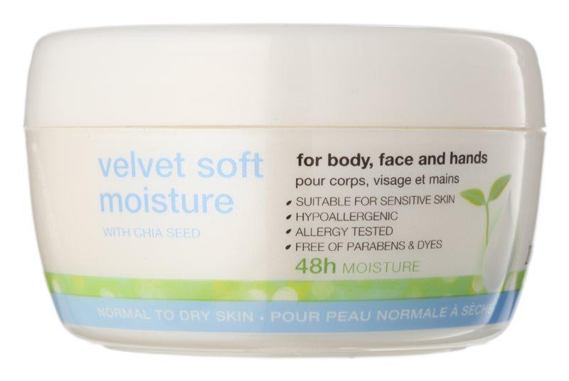 Avon Nutra Effects zjemňujúci hydratačný denný a nočný krém na tvár a telo