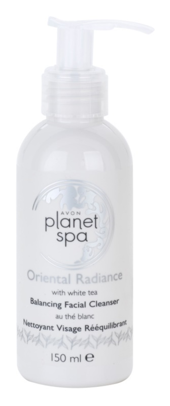 Avon Planet Spa Oriental Radiance Gel Facial Cleanser With White Tea