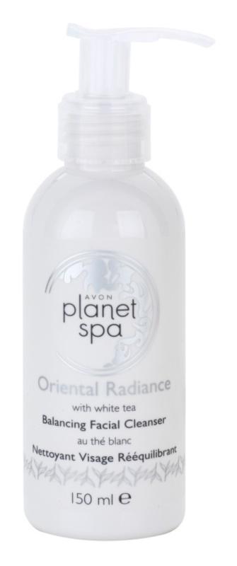 Avon Planet Spa Oriental Radiance gel nettoyant visage au thé blanc