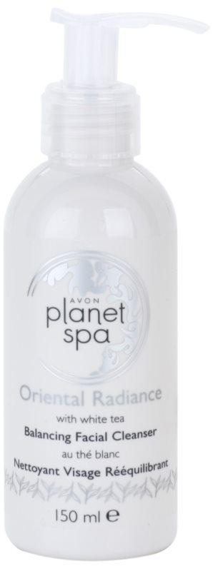 Avon Planet Spa Oriental Radiance gel za čišćenje lica s bijelim čajem