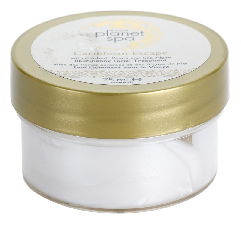 Avon Planet Spa Caribbean Escape Radiance Night Care With Pearl And Seaweed Extracts