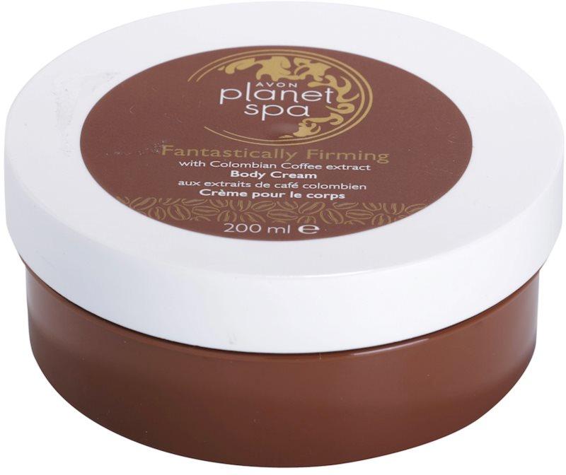 Avon Planet Spa Fantastically Firming crema de corp pentru fermitatea pielii cu extract de cafea