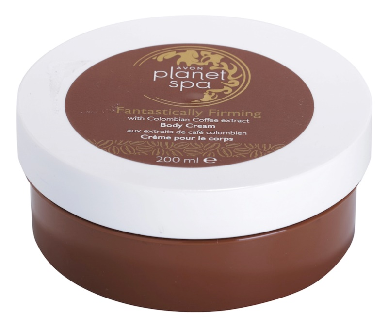 Avon Planet Spa Fantastically Firming Firming Body Cream With Extracts Of Coffee