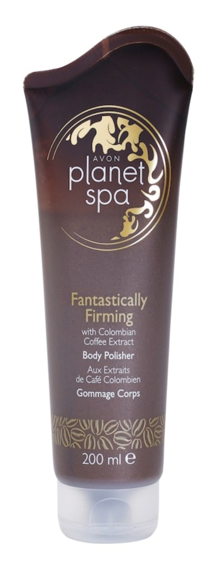 Avon Planet Spa Fantastically Firming συσφικτική απολέπιση σώματος με εκχυλίσματα απο καφέ