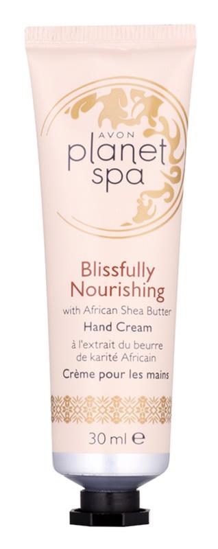 Avon Planet Spa Blissfully Nourishing with Ginger crema per le mani con burro di karité
