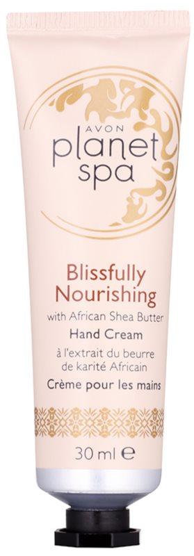 Avon Planet Spa Blissfully Nourishing with Ginger krem do rąk z masłem shea