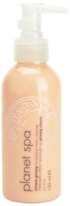 Avon Planet Spa Chinese Ginseng відновлюючий очищаючий крем з женшенем