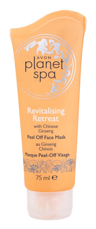 Avon Planet Spa Chinese Ginseng maschera peel-off rivitalizzante viso