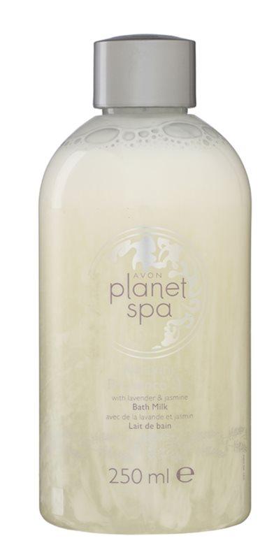 Avon Planet Spa Provence Lavender hydratačné mlieko do kúpeľa s levanduľou a jazmínom