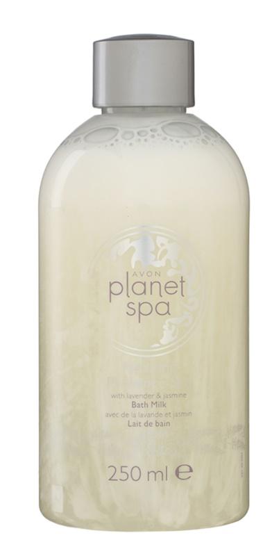 Avon Planet Spa Provence Lavender leite hidratante de banho com lavanda e jasmim