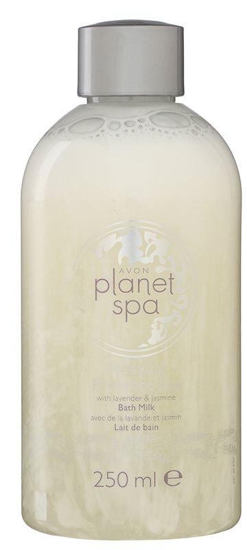 Avon Planet Spa Provence Lavender vlažilno mleko za kopel s sivko in jasminom