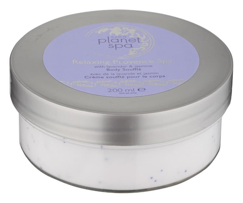 Avon Planet Spa Provence Lavender hydratační tělový krém s levandulí