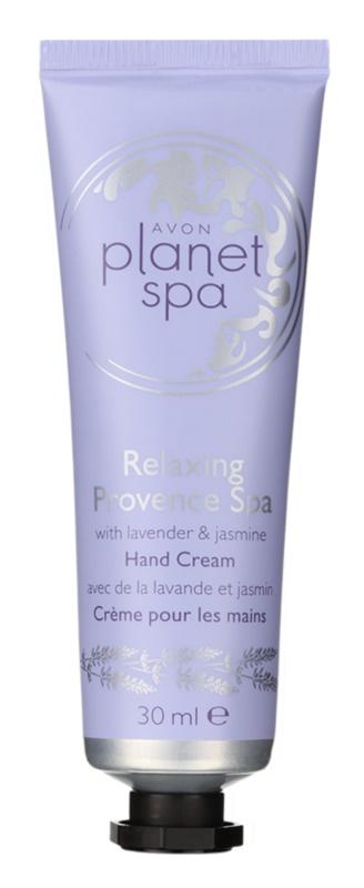 Avon Planet Spa Provence Lavender krem nawilżający do rąk z lawendą