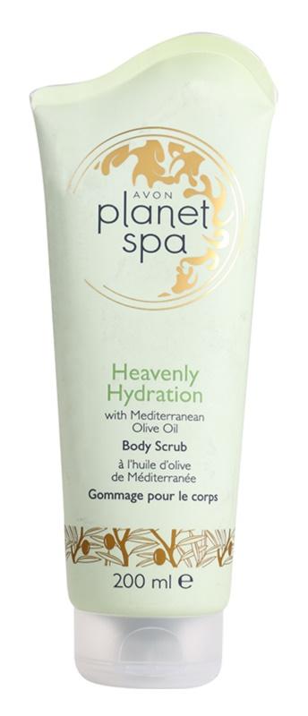 Avon Planet Spa Heavenly Hydration peeling corporal hidratante com azeite