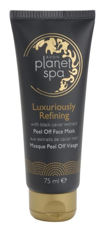 Avon Planet Spa Luxury Spa luxuosa máscara restauradora facial peel-off com extratos de caviar preto