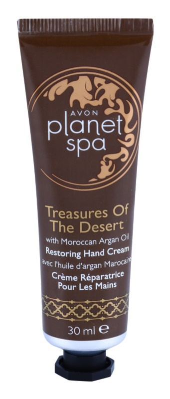 Avon Planet Spa Treasures Of The Desert crema de maini cu ulei de argan