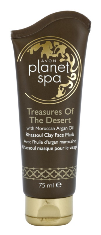Avon Planet Spa Treasures Of The Desert máscara renovadora para embelezamento da pele