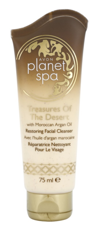 Avon Planet Spa Treasures Of The Desert crema renovadora limpiadora con aceite argán marrueco