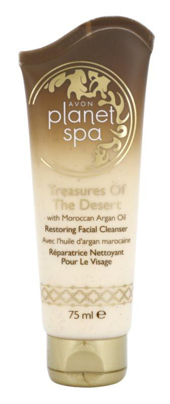 Avon Planet Spa Treasures Of The Desert regenerierende reinigende Creme mit marokanischem Argan Öl