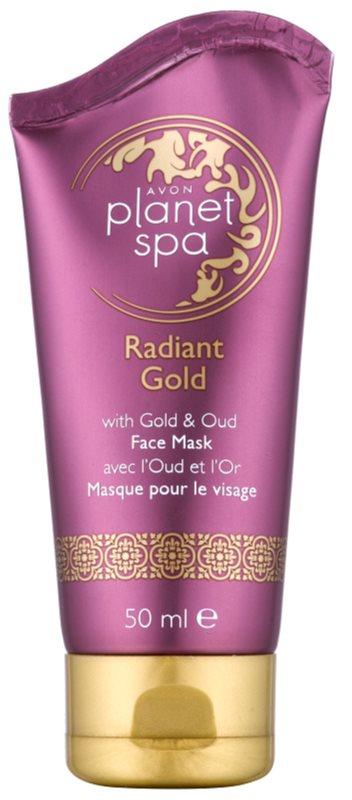Avon Planet Spa Radiant Gold Peel-Off Mask For Skin Resurfacing