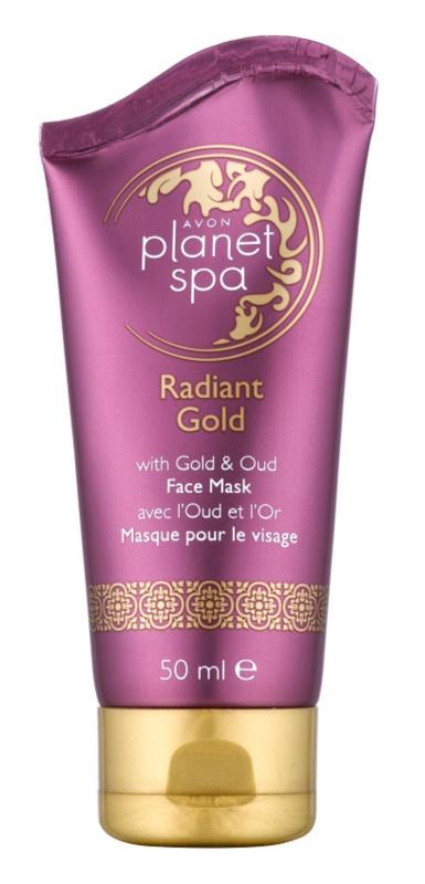 Avon Planet Spa Radiant Gold маска-пілінг для відновлення поверхневого шару шкіри