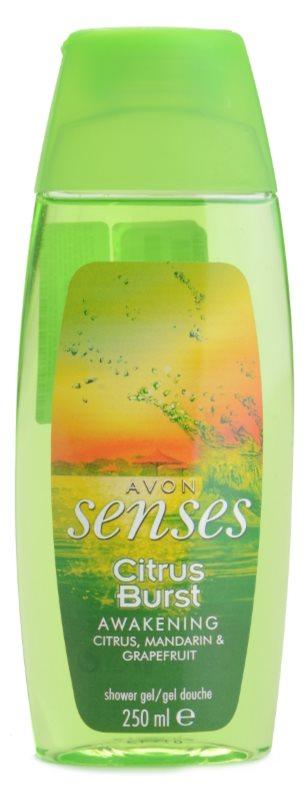 Avon Senses Awakening Citrus Burst Duschgel