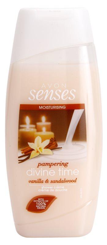 Avon Senses Divine Time feuchtigkeitsspendendes Duschgel