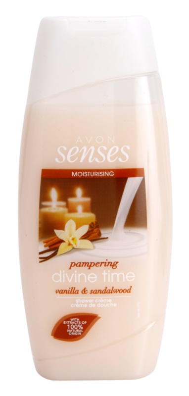 Avon Senses Divine Time Moisturizing Shower Gel