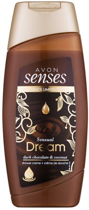 Avon Senses Sensual Dream crema de ducha hidratante