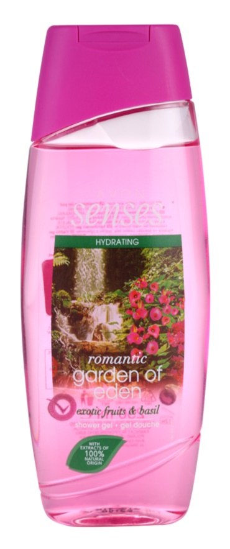 Avon Senses Romantic Garden Of Eden Moisturizing Shower Gel
