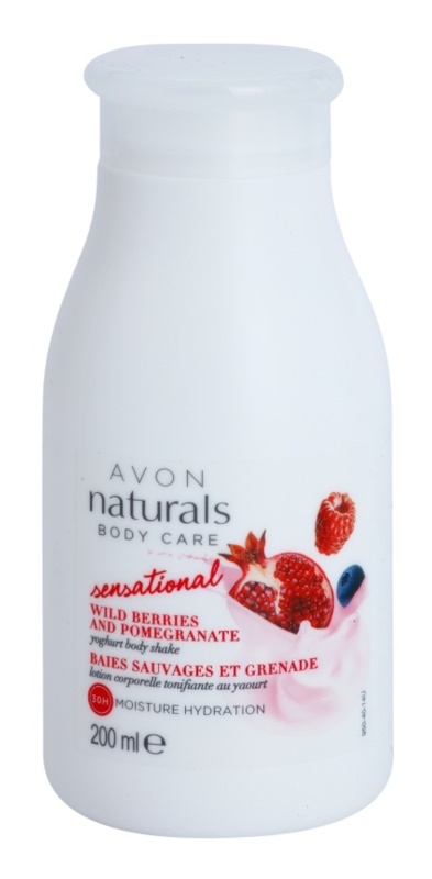 Avon Naturals Body Care Sensational Body Shake