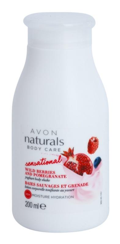 Avon Naturals Body Care Sensational omekšavajuća mlijeko za tijelo s jogurtom