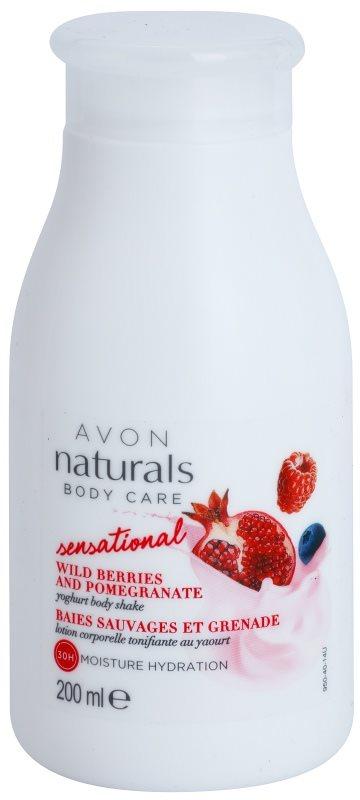 Avon Naturals Body Care Sensational απαλυντικό γάλα για το σώμα με γιαούρτι