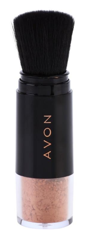 Avon Shimmer Glow Dust bronzující pudr ve štětci