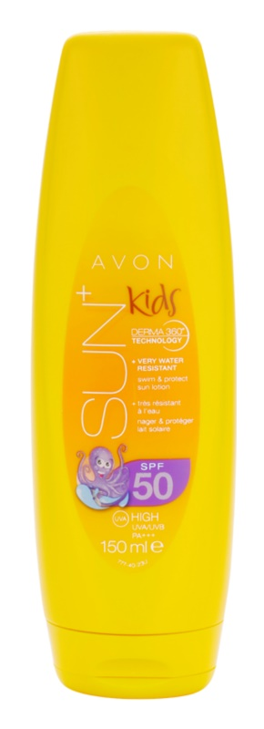Avon Sun Kids Very Water Resistant Orange Sun Lotion SPF 50