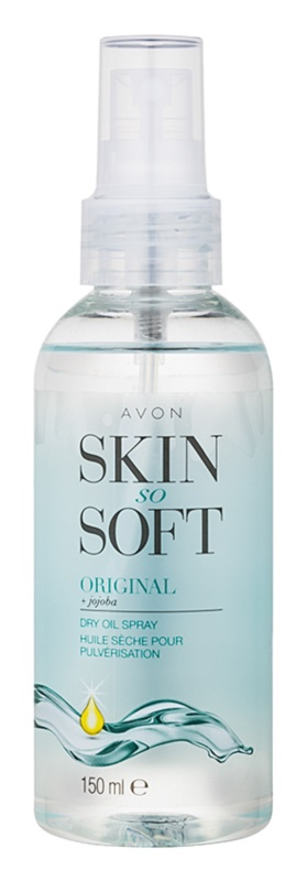 Avon Skin So Soft aceite de jojoba en spray
