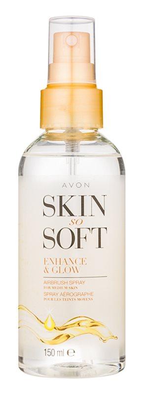 Avon Skin So Soft spray auto-bronzant corps